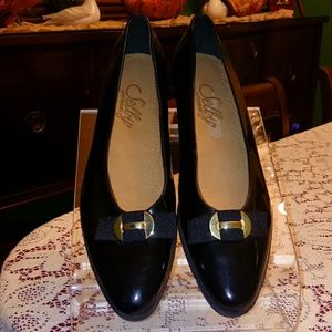 Selby patent leather loafer